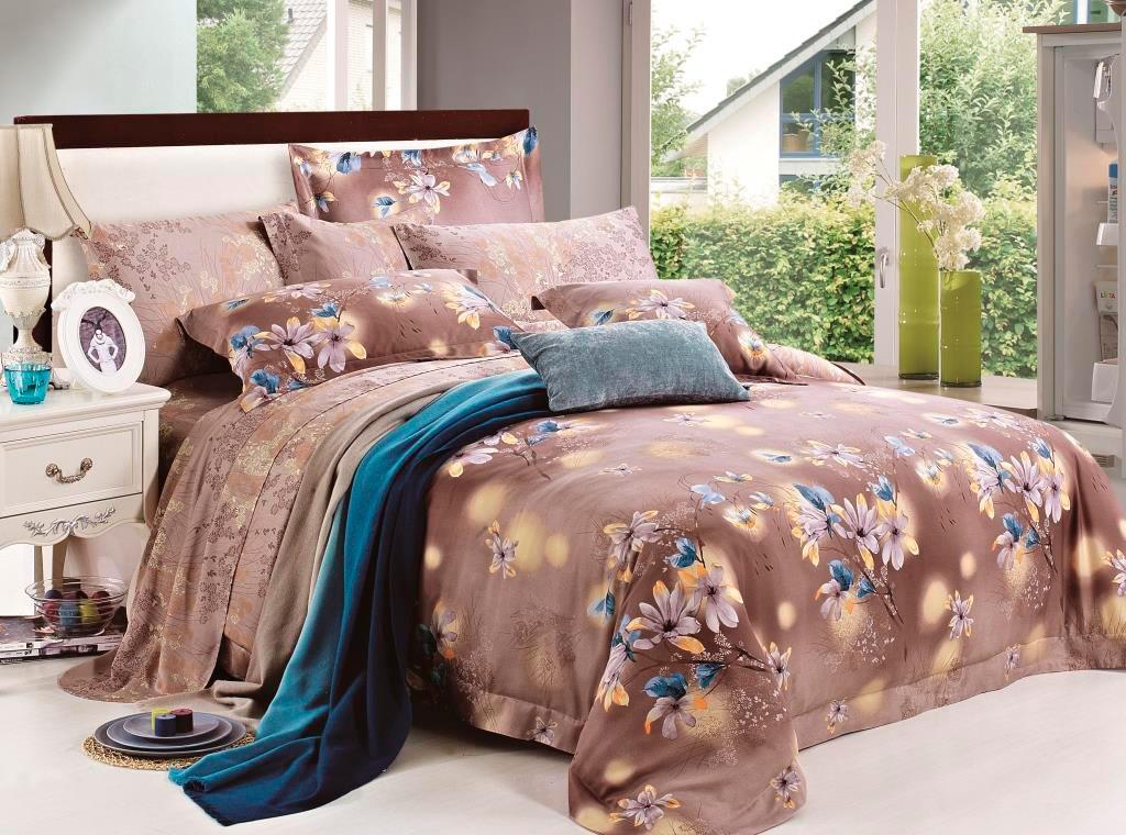 Тенсель постельное белье фото 7