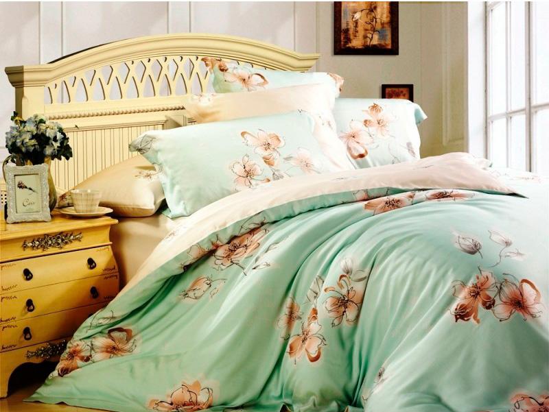 Тенсель постельное белье фото 10