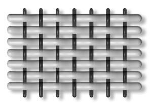 Структура ткани поплин