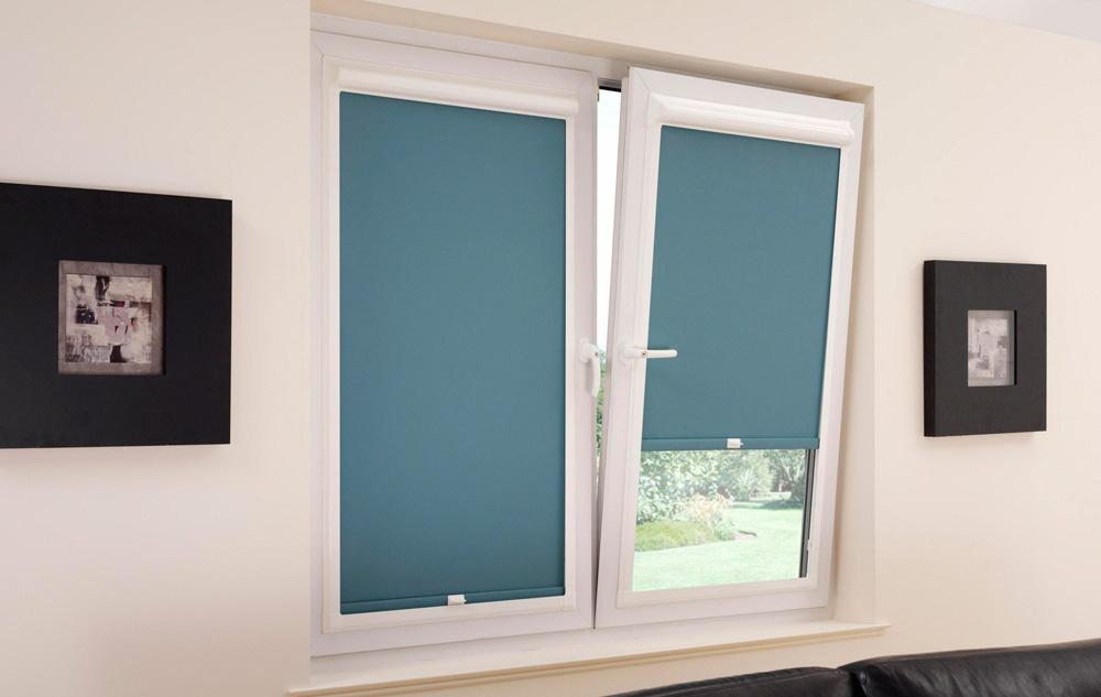 Рулонные шторы на пластиковые окна фото №2