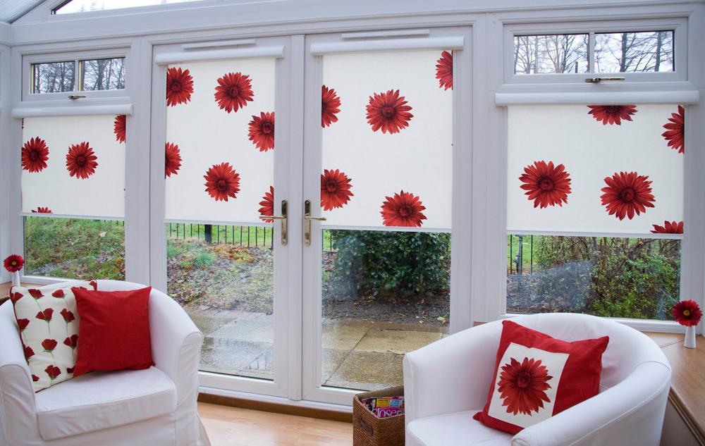 Рулонные шторы на пластиковые окна фото №6