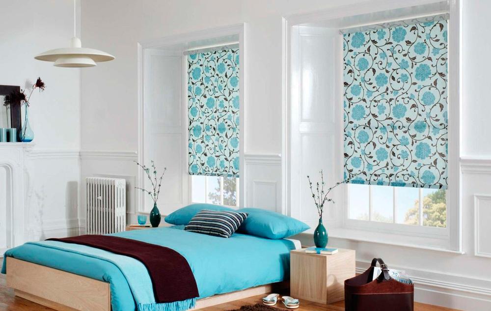 Рулонные шторы на пластиковые окна фото №8