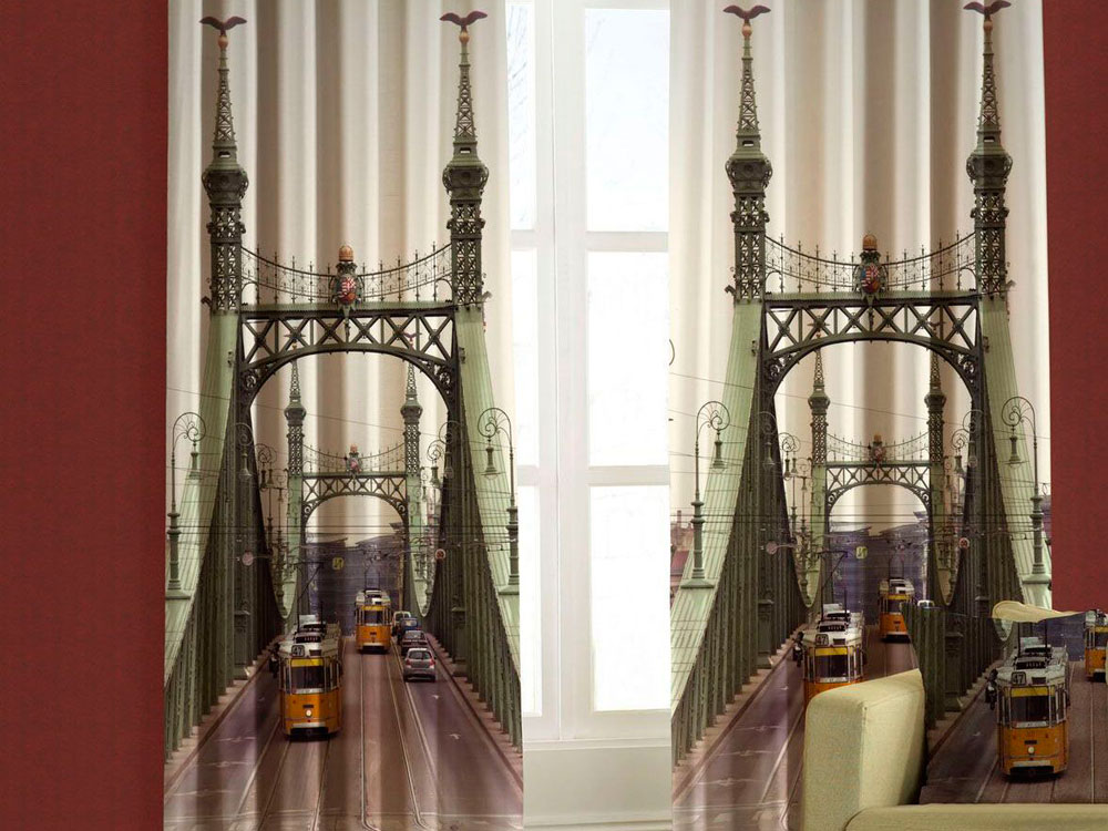Фотопечать 3D шторы фото 2