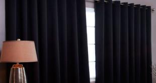 Светонепроницаемые черные шторы фото 3