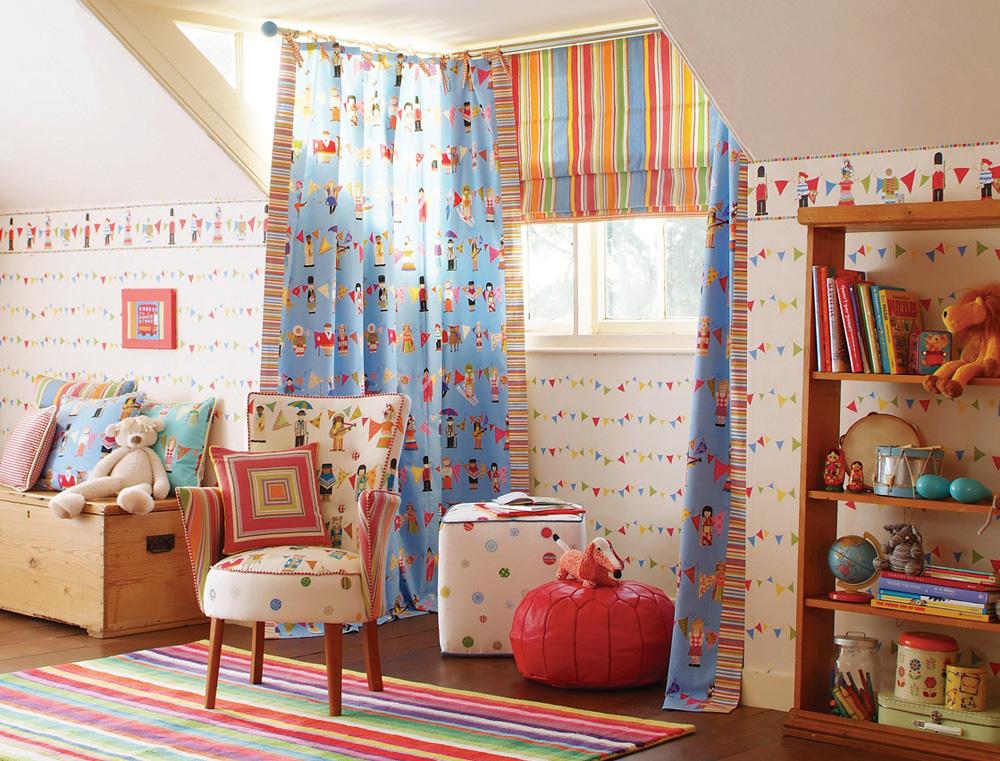 Шторы для детской комнаты мальчика фото 12