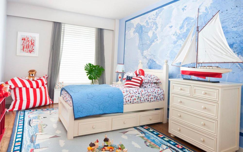 Шторы для детской комнаты мальчика фото 21