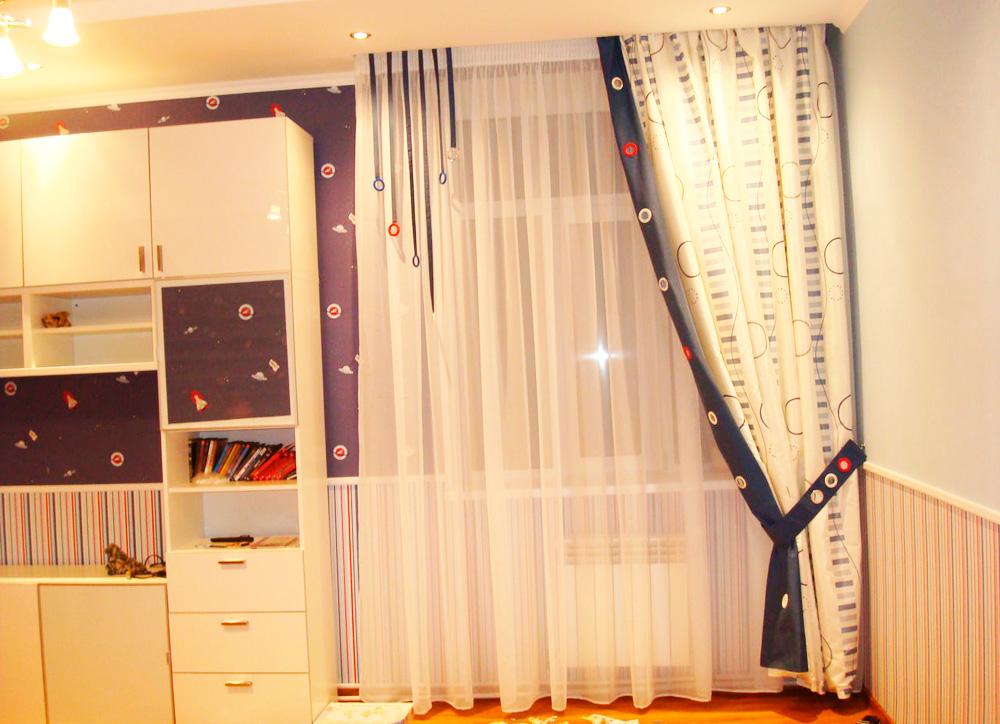Шторы для детской комнаты мальчика фото 5