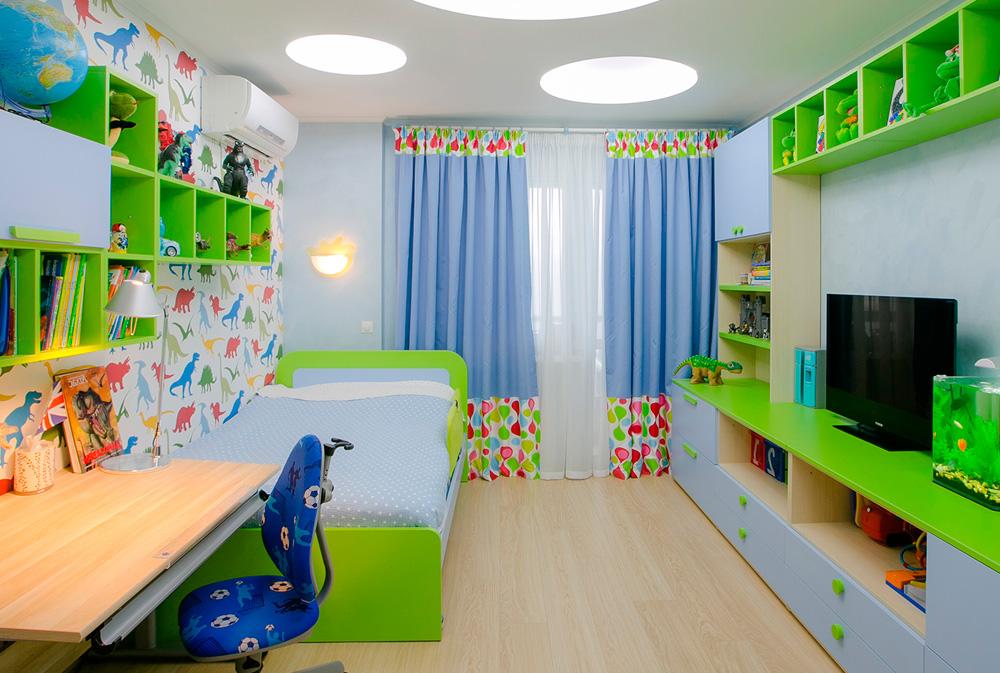 Шторы для детской комнаты мальчика фото 7