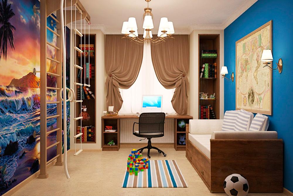 Шторы для детской комнаты мальчика фото 8