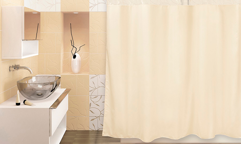тканевые шторы для ванной