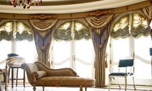Как сшить французские шторы
