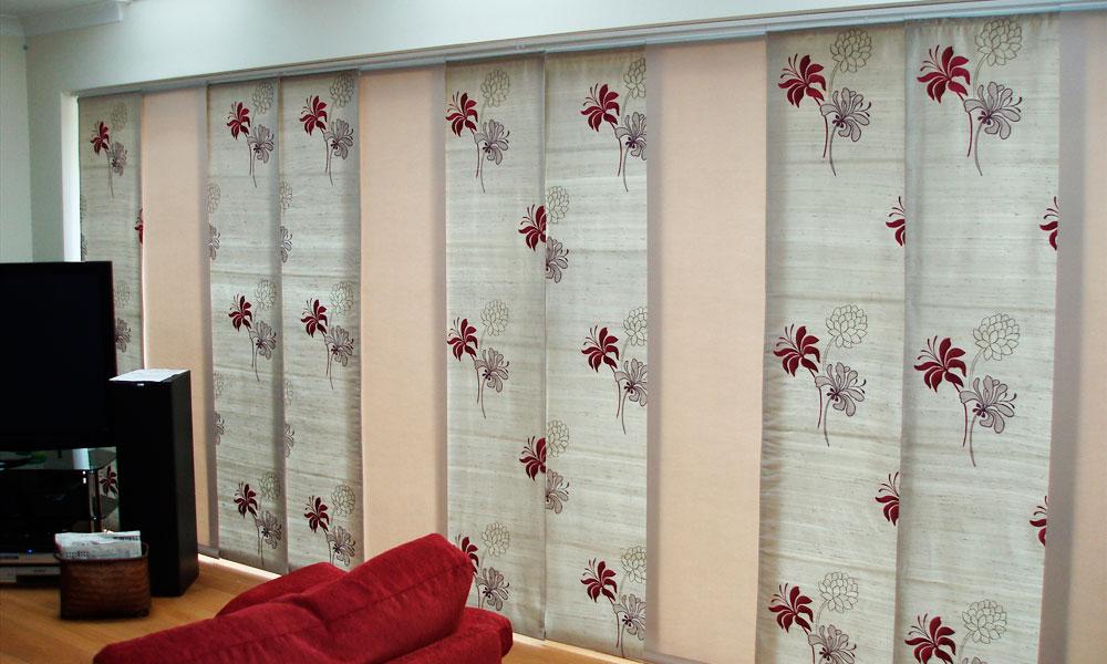 Как сшить японские шторы своими руками