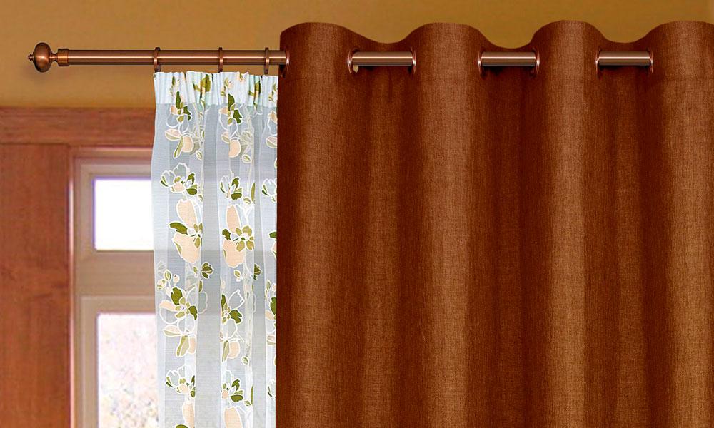 Как сделать шторы из люверсов