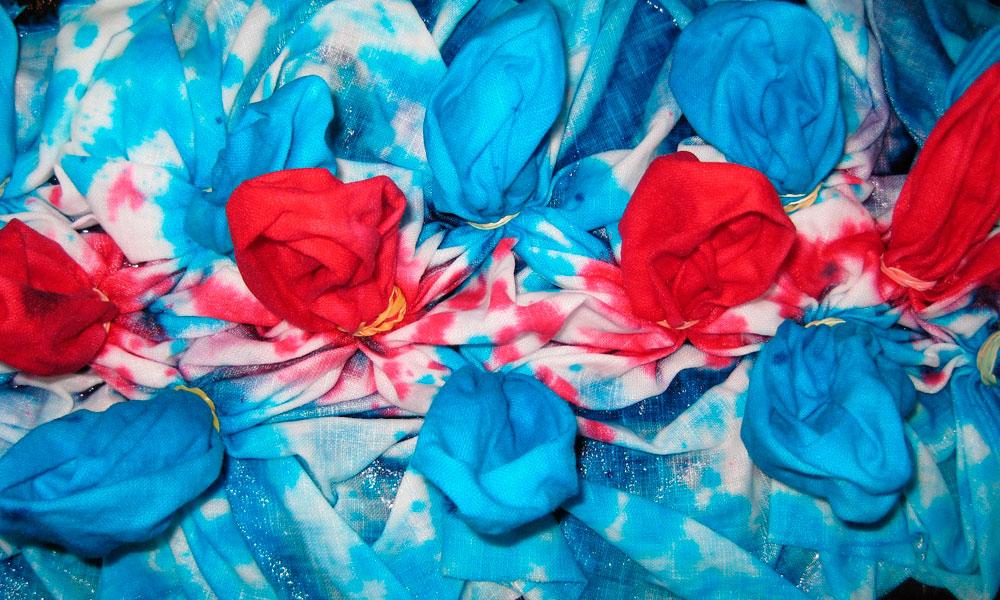 окрашивание ткани дома
