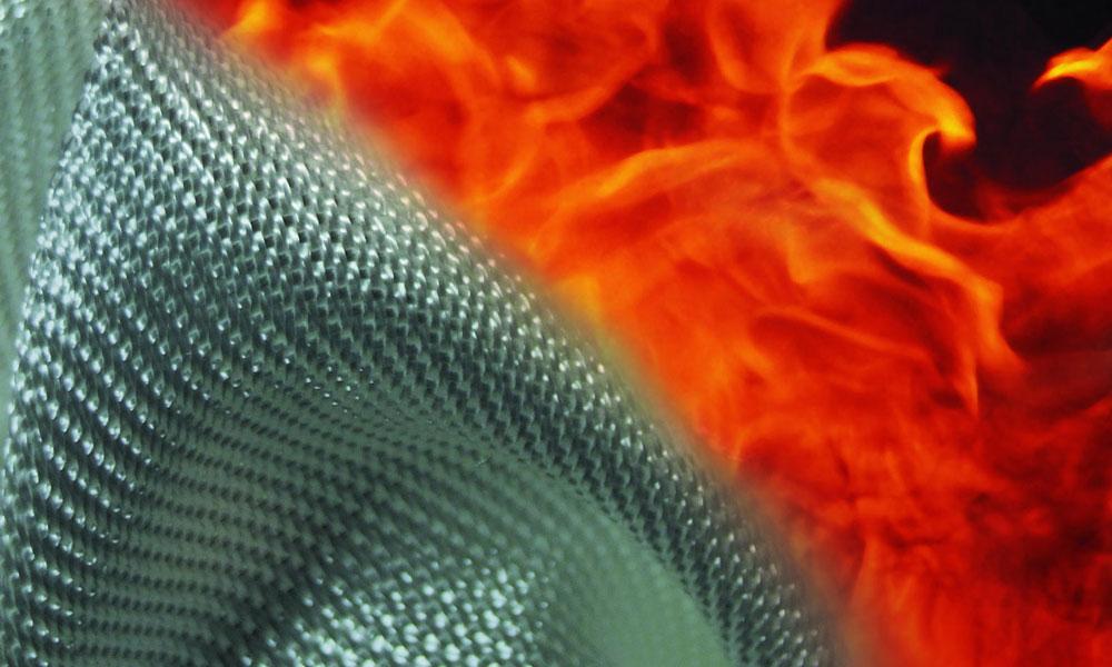 огнеупорная пропитка ткани