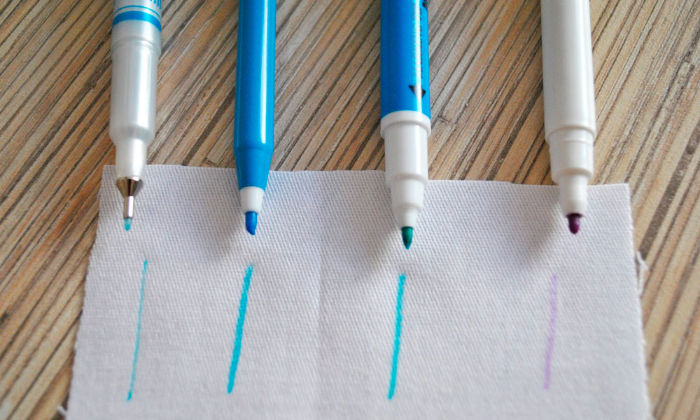 маркеры и фломастеры для ткани