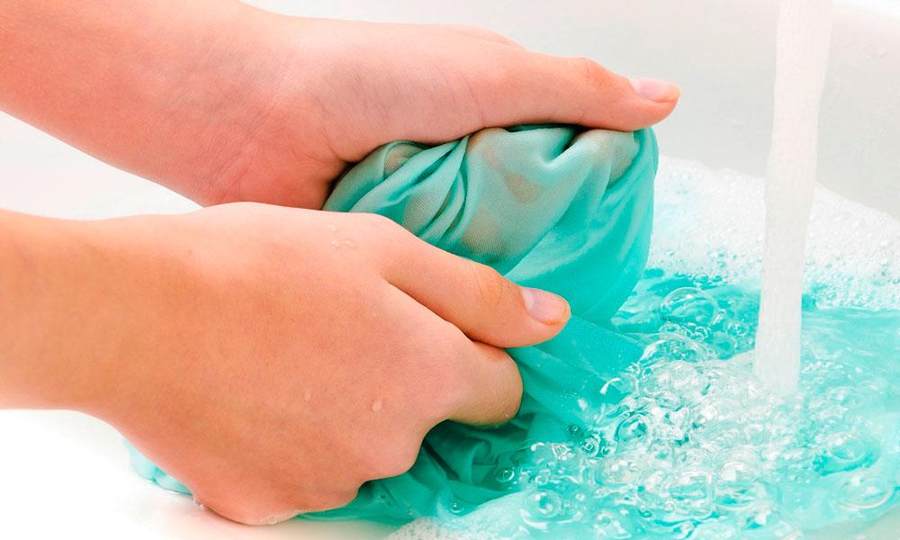 Восстановление цвета ткани после стирки