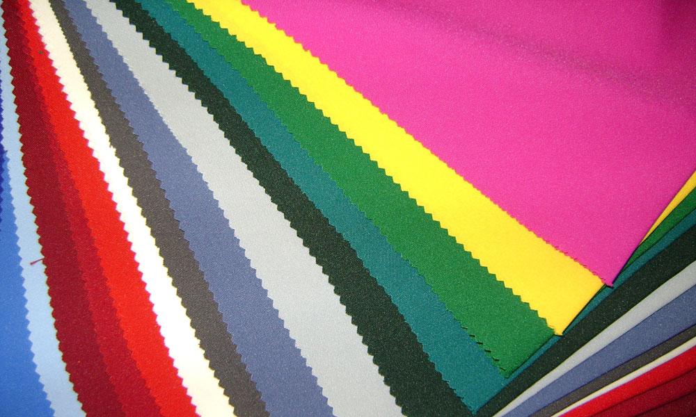 Цветовая гамма габардина