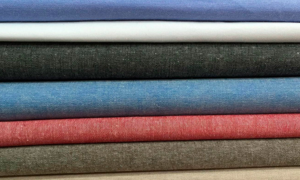 цвета ткани шамбре